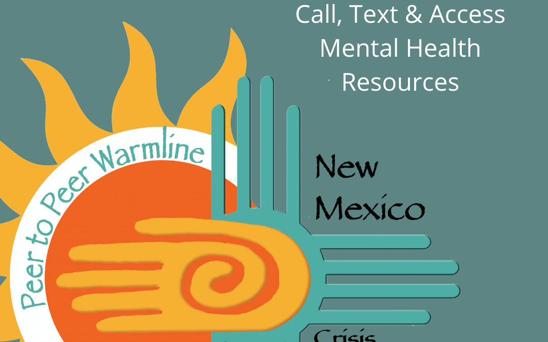 One Stop for NM Mental Health Resources