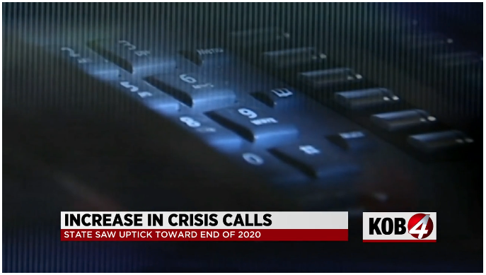 Pandemic's Toll Increases Calls to Crisis Line